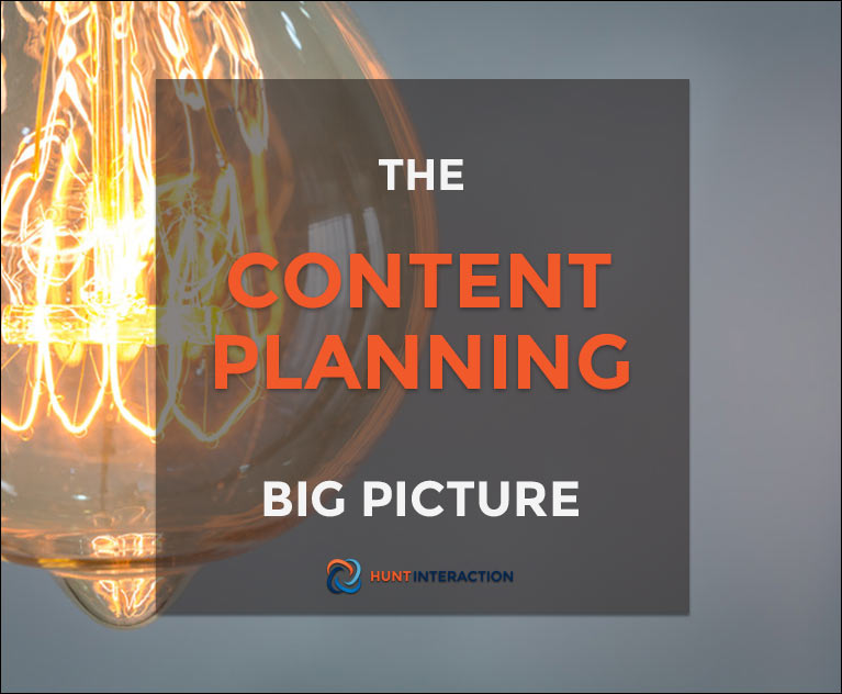 The Content Planning Big Picture