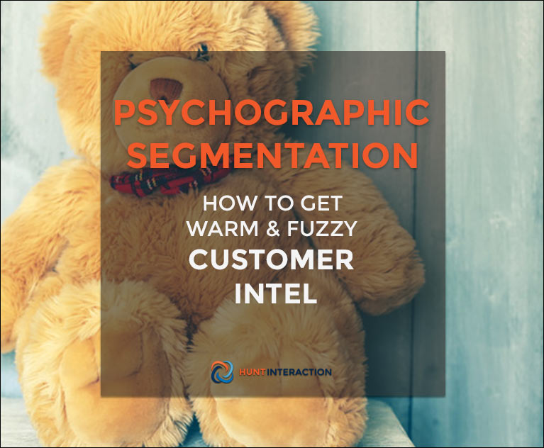 Psychographic Segmentation: How to Get Warm and Fuzzy Customer Intel