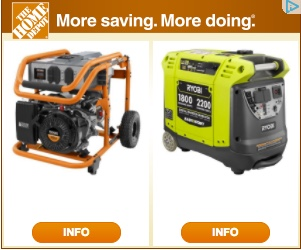 the only thing i would add to this retargeting campaign is an inventory control message or trigger u2013 sadly these generators were sold out at the home depot
